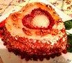 Новогодний торт от Ольги.