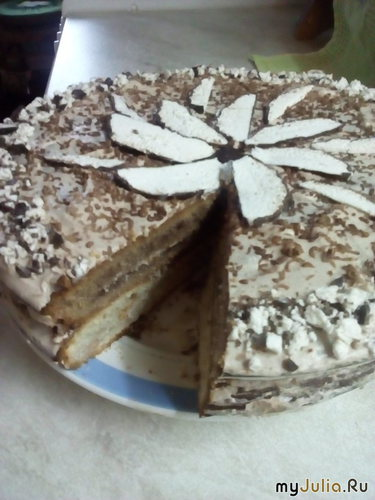Торт на ряженке