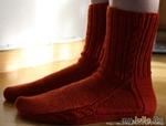 Способы вязания носков от мыска.
