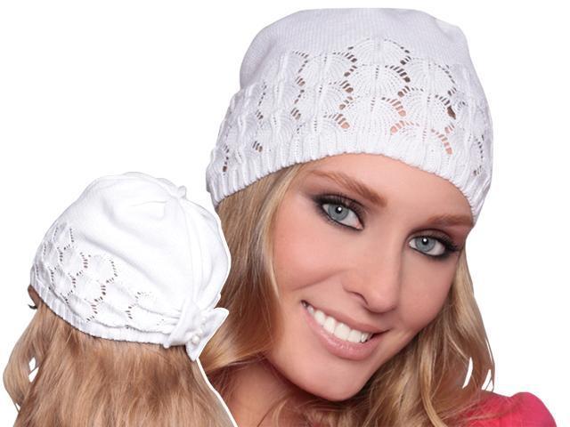 вязанные шапки на весну с описанием