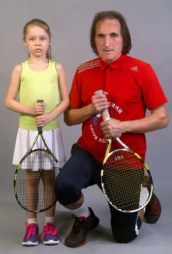 Детский теннис, и Заури Абуладзе,