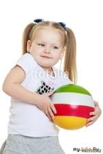 Таня и мячик