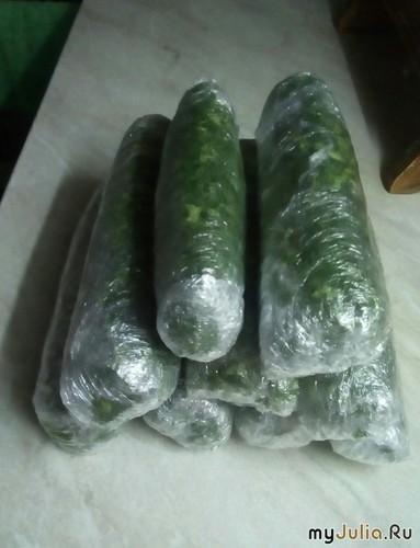 Зелень для заморозки