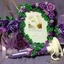 Свадебный набор Фиолетовый