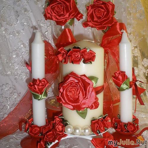 Свадебный набор Страсть