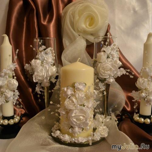 Свадебный набор Нежность