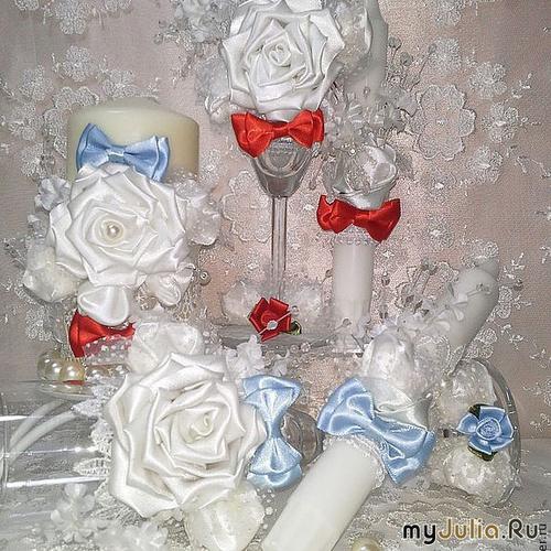 Свадебный набор Белоснежный