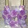 Свадебный набор Фиолетовый 2