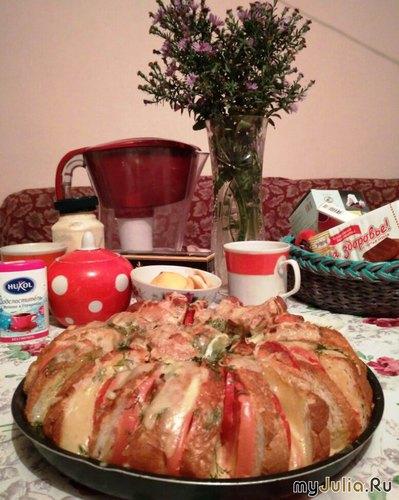 Ленивый пирог от Зиночки.