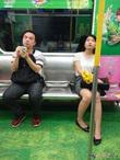 Фотоохота в китайском метро 1