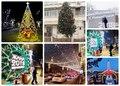 Алматы новогодняя