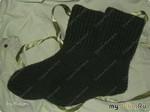 Вязанные носки крючком. Мастер класс №1