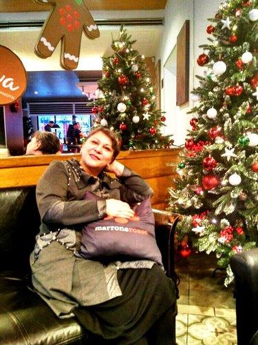 в кафе Marrone Rosso