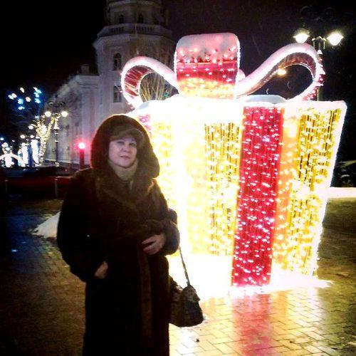 Январь. Ночной Алматы