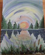 Мои первые картины)