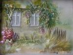 Живые картины от Анжелы Юклянчук .Она не вышивает, она рисует лентами, едва касаясь полотна! Настоящий талант от Бога!