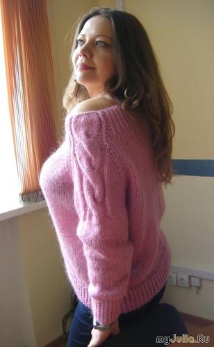 Нежнейший свитерок из кид-мохера