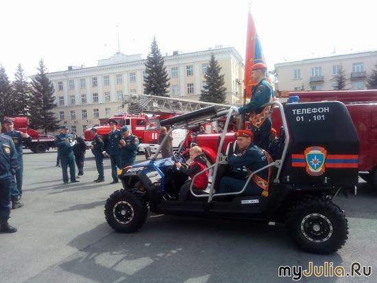 выставка  пожарной техники 2018 г