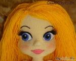 Советы по оформлению  лица вязаной куклы от Ольги Неретиной