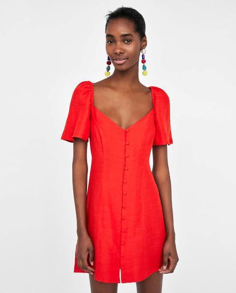 33092c3f526 Мода  Мода 2018  огненно-красный цвет