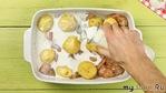 Курица с картошкой в духовке – 5 оригинальных рецептов