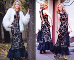 Красивые модели платьев вязаных крючком