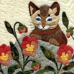 Квилт с кошками