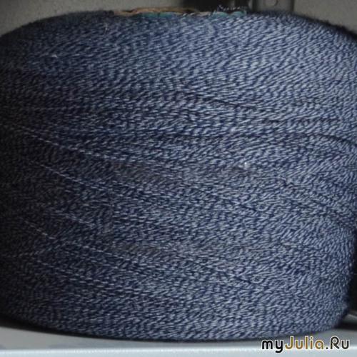 синий меланж. 600 руб/кг