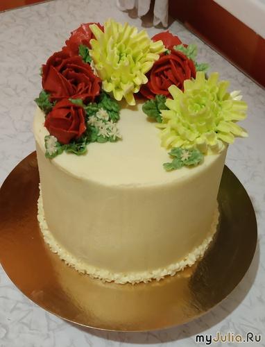 Тортик для дамы.