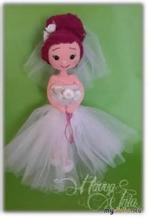 Вязаная кукла - невеста перевод Ксении Куваевой