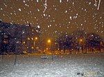 Однажды выпал снег