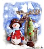 Снеговик Кевин и его ёлка.