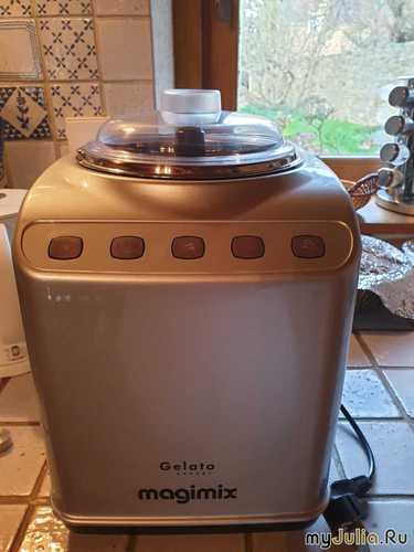 Машинка для приготовления итальянского мороженого