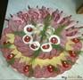 Новогоднее оформление тарелки