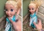 Загадочная кукла - принцесса Эльза