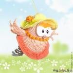 Романтическая шляпка для куклы автор мастер класса Светлана Ковальчук