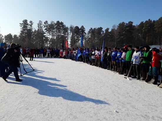 турнир по хоккею в валенках в честь дня защитника отечества!