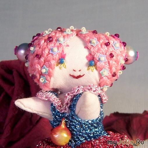 Текстильная кукла-малышка Фея