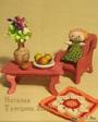 Текстильная кукла Забава