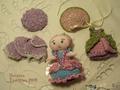 Текстильная кукла-малышка Мадемуазель Полин