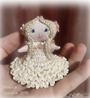 Текстильная кукла-малышка Морская пена (Русалочка)