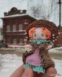 Кукла-малышка Агата гуляет по Кунгуру
