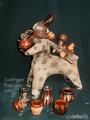 Керамическа свистулька Полкан-горшечник