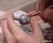 Миниатюрный керамический горшочек