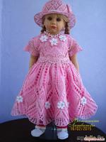 Шикарные детские платьица от Валентины Литвиновой - ч. 1 (со схемами)