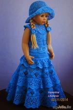 Шикарные детские платьица от Валентины Литвиновой - ч. 2 (со схемами)