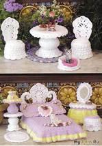 Вязаная мебель для куклы Барби (крючок). Автор: nensi