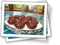 Мини-мини шоколадный Брауни на Пасху