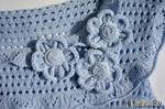 Цветы спицами от ira knittedwear - мк.