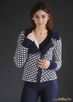 Вязание куртки Mosaic Bomber Jacket.